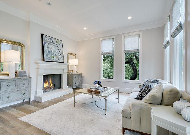 Tastefully designed formal living space