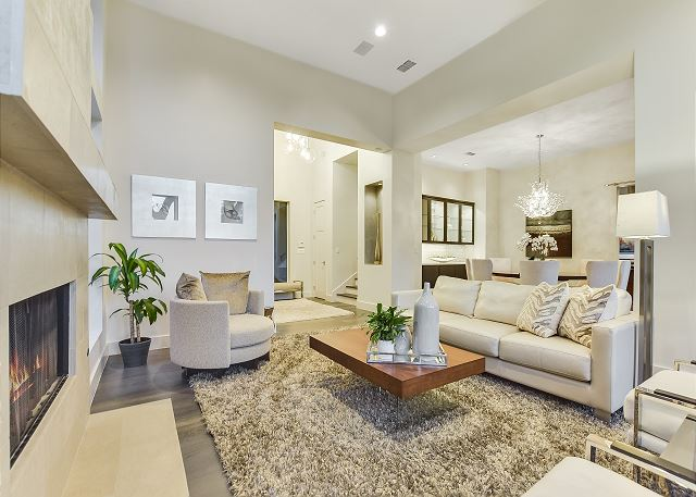 Open living room with a place for everyone