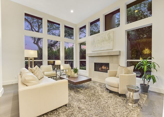 Visit with your group in a warm and inviting area