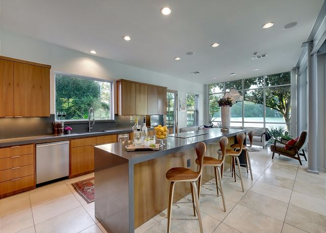 Expansive kitchen with high end appliances perfect for cooking a delicious meal