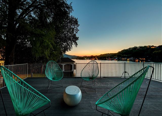 Watch the sunset from the perfect vantage spot