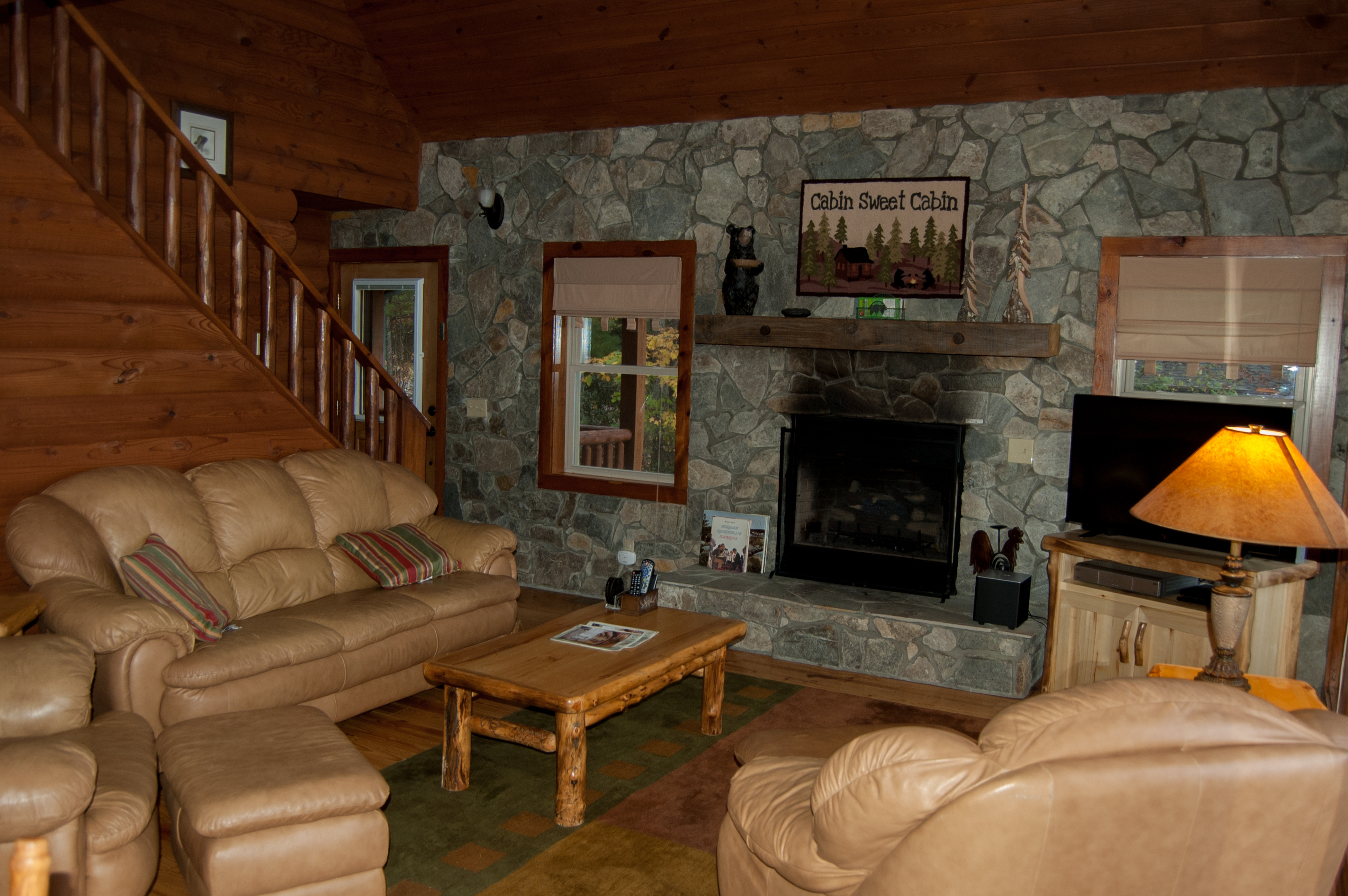 exterior img our view cabin rich galleries rentals summit gallery rental cabins boone