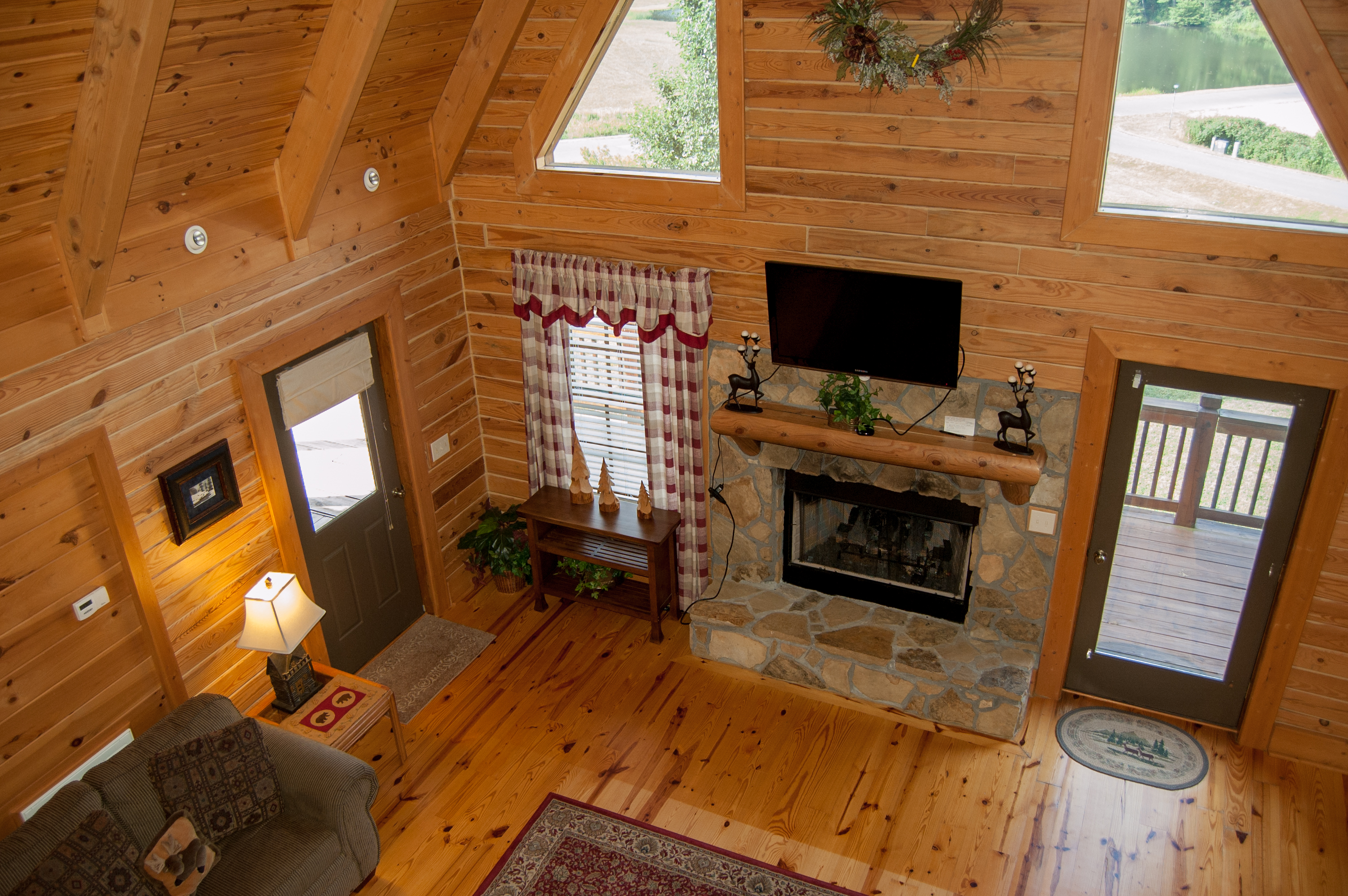 cheap vacations cabins creek homes ca rent original in rathbun for retreat and bear at cougers big bungalow