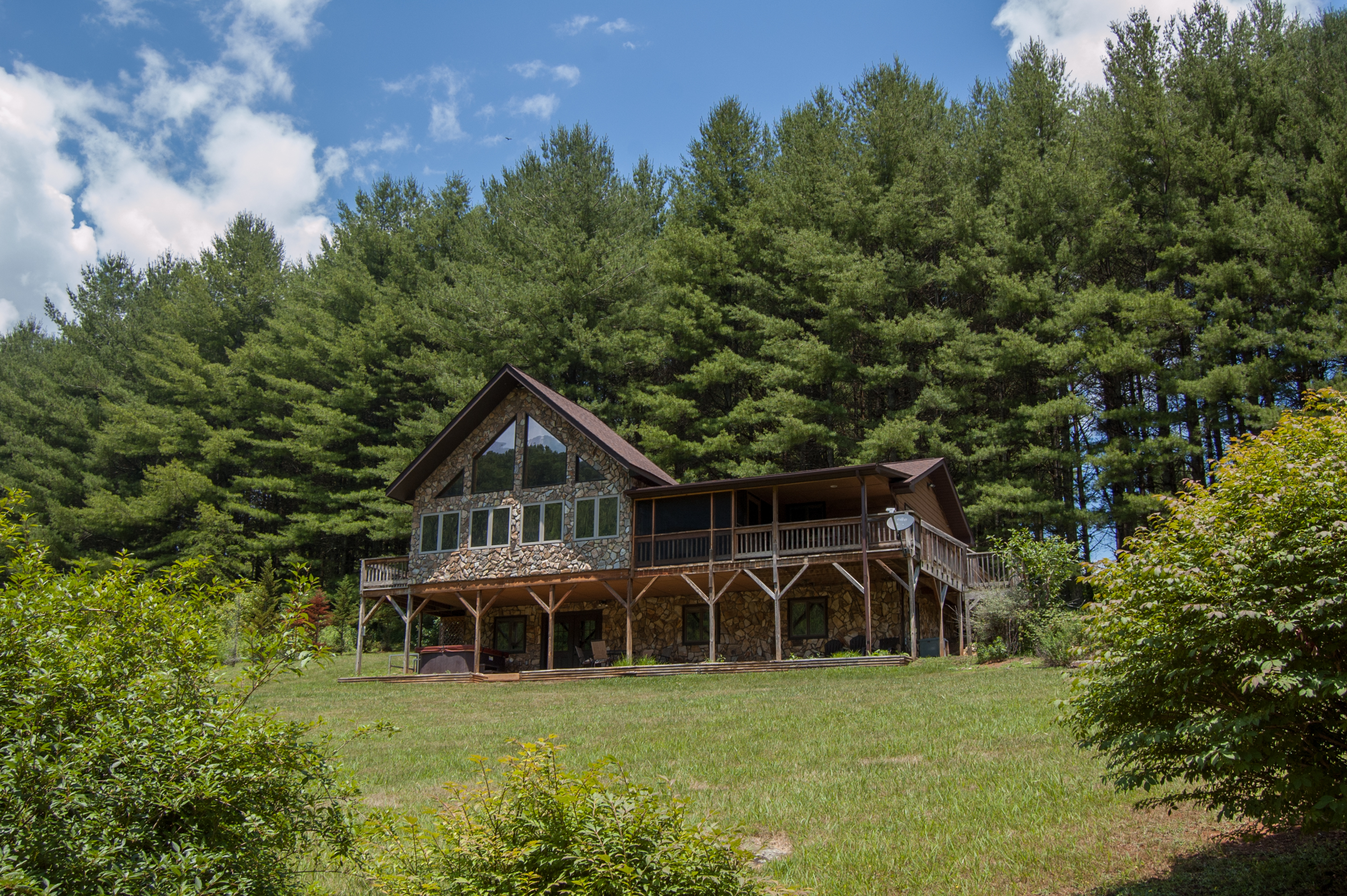luxury blue ridge cabin cabins rental bacspabath talentneeds parkway nc mountain asheville black com