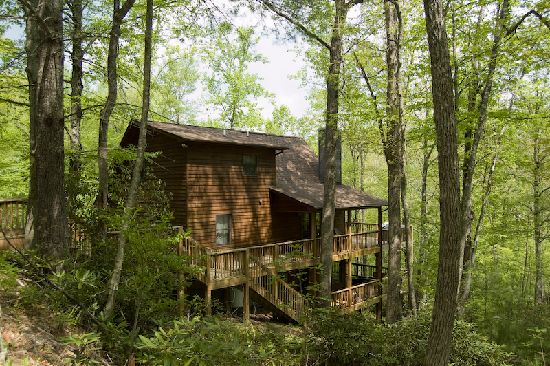 A Peace of the River Vacation Cabin Rental on the New River