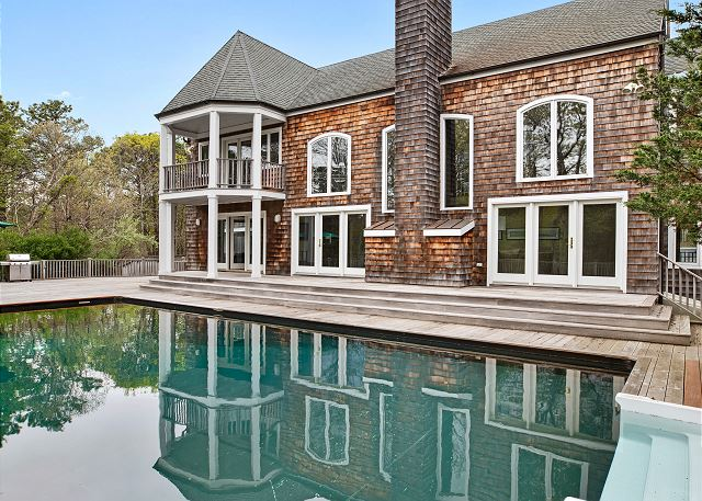 Magnificent Water Mill Estate with pool, tennis, and gym