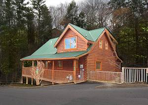 BERRY NICE #108 One Bedroom Pigeon Forge Resort Cabin Close to the Pigeon Forge Parkway