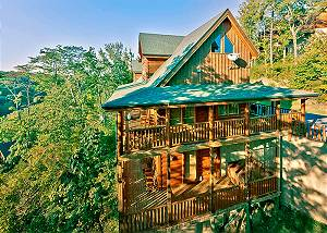 SPLENDID VIEW #306 Pigeon Forge resort cabin Splendid View 306