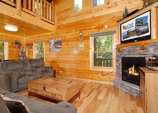 Sevierville Cabin Rental Pine Cove Hideaway 1816 2