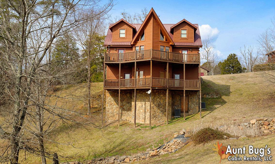 Sevierville Cabin Rental Papa Bear Lodge 565 5 Bedroom