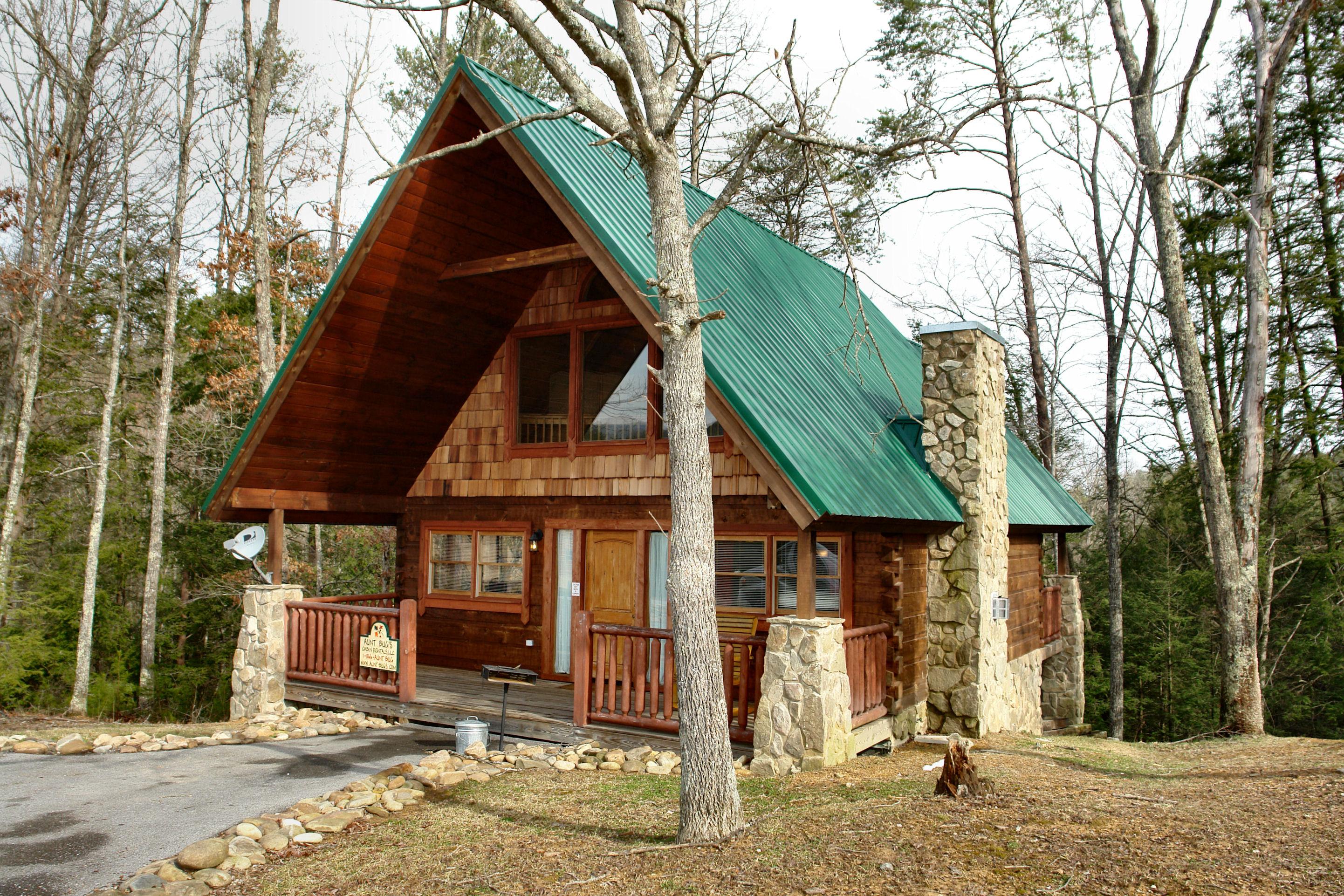 Sevierville Cabin Rental Hidden Romance 1404 1 Bedroom