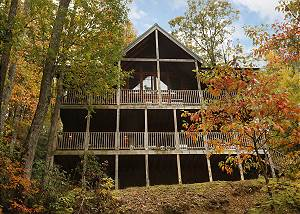 Above It All  #446 Gatlinburg Cabin near Downtown, Smoky Mtns National Park, & Ober Ski Resort