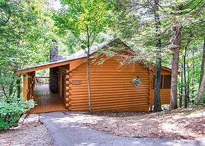 Cabin Fever #117 Beautiful Private 1 Bedroom Cabin that sleeps 4 in  beautiful Wears Valley!