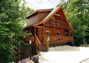 BOULDER BEAR LODGE 355 Pigeon Forge resort cabin Boulder Bear Cabin 355