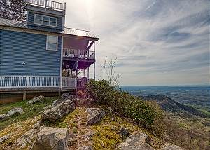 RUBY'S CLIFFSIDE #125 Incredible Views of a Lifetime! Ultimate Honeymoon or Anniversary Cabin!