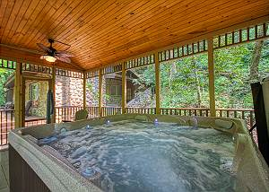 THE PROMISE AT COOL CREEK #130 1 Bedroom 1 Bathroom Creekside Cabin in Wears Valley area of Pigeon Forge!