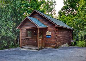 Saw'n Logs #157 Cute Honeymoon Cabin Close to Downtown PIgeon Forge,Dollywood, and The Island