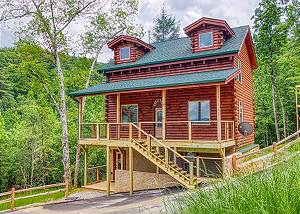 HIGH COUNTRY - 498 Large Family Smoky Mountain Log Cabin Rental with BRAND NEW FURNISHINGS!