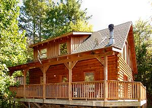 SUGAR BEAR #226 Secluded 1 bedroom Shagbark Resort Pigeon Forge TN, HOT TUB, WIFI,AND MORE!