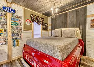 DUCK POND MANCAVE #1439 Tiny Home Cabin -Custom Craftmanship/Car Show Cabin with Character