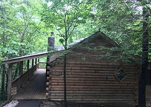 Cabin Fever #117 Private 1 Bedroom Cabin that sleeps 4 in  beautiful Wears Valley!