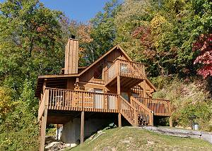 MOUNTAIN MAGIC 1264 One Bedroom Gatlinburg Cabin Close to Ober Ski Resort and National Park