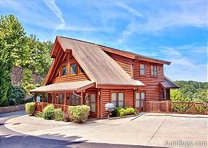 A MOUNTAIN ENDEAVOR #282 A Mountain Endeavor 282, 2 bedroom luxury log townhouse, close to Dollywood