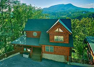 ABSOLUTELY WONDERFUL 304 Pigeon Forge resort cabin Absolutely Wonderful 304
