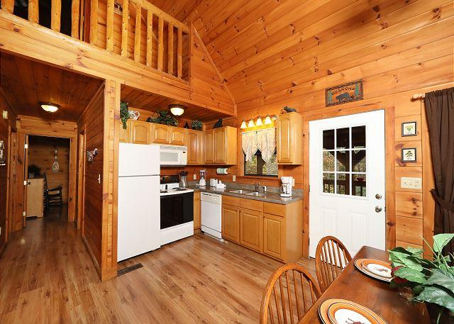BENEATH THE STARS #220 Semi Private 2 Bedroom Pet Friendly Cabin,6 Miles