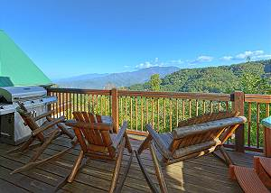 BEAR PAUSE #378 Gatlinburg Luxury Cabin Spectacular Views Bear Pause 378