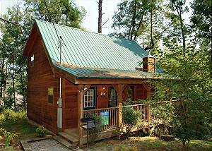 ABOVE THE FALLS #144 1 Bedroom Cabin with Pool Table Behind Dollywood in the Birds Creek Area