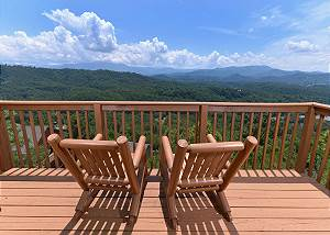 AMAZING VIEW #223 Luxury 2 bedroom, 1 mile to Dollywood Pigeon Forge TN, Smoky Mountain View