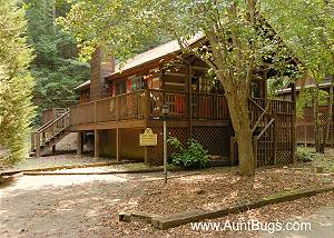MOUNTAIN ROMANCE #152 Romantic 1 Bedroom Smoky Mountain Close to Downtown Pigeon Forge and Parkway