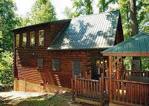 FALCON CREST #2911 Secluded Smoky Mountain Log Cabin Rental Between Pigeon Forge and Gatlinburg