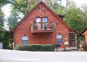 COZY DEN 182 2 Bedroom Pigeon Forge TN Log Cabin Hidden Springs Resort 2 miles from town
