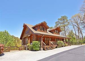 Smoky Bear #280 Smoky Bear 280, 2 bedroom Pigeon Forge Log Townhouse Close to Dollywood
