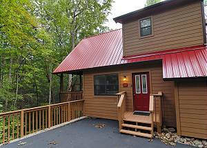 CATCH A FALLING STAR #1127 Cabin near downtown Gatlinburg in a wooded setting Catch a Falling Star 1127