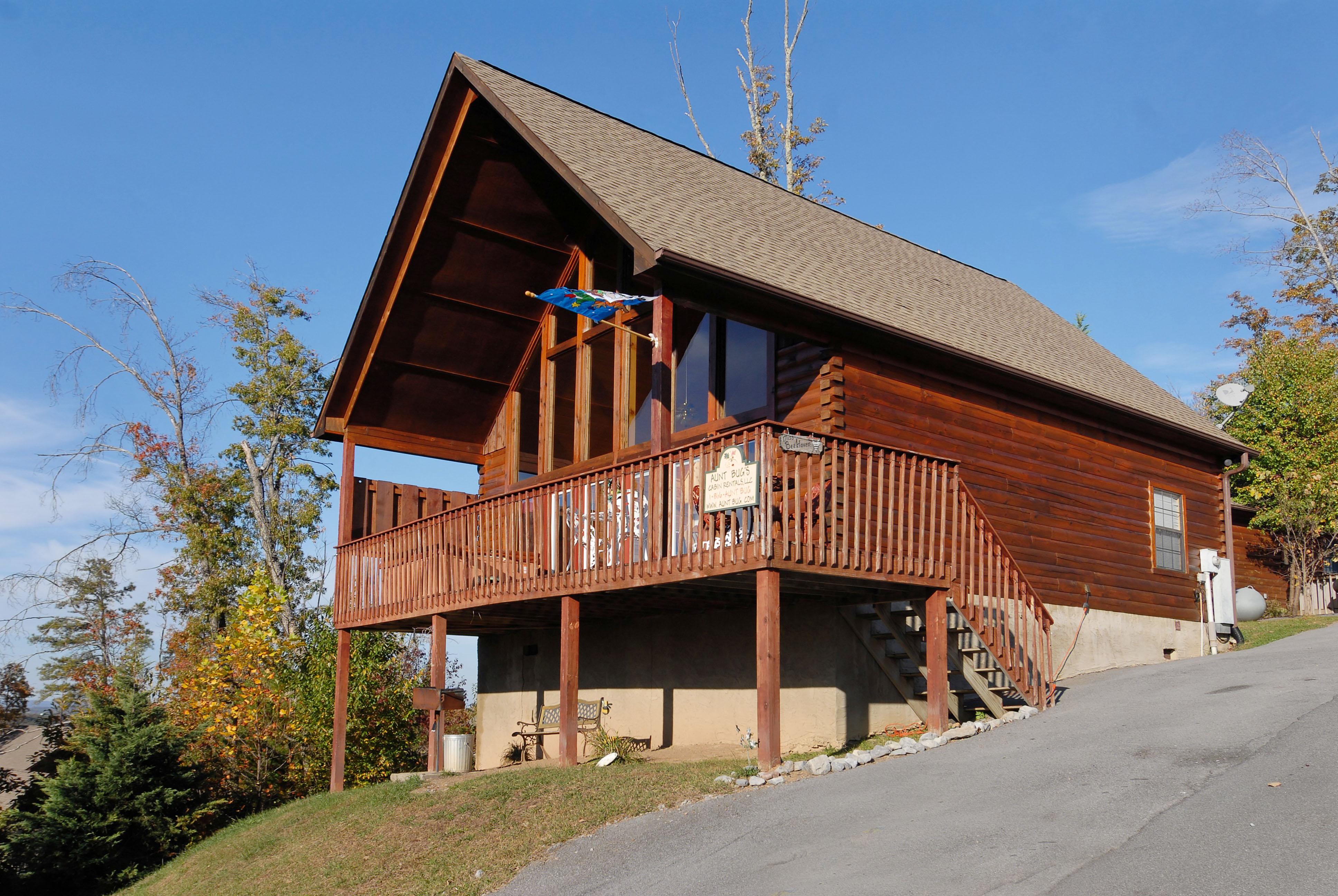 Sevierville Cabin Rental Miss Bee Haven 236 2 Bedroom