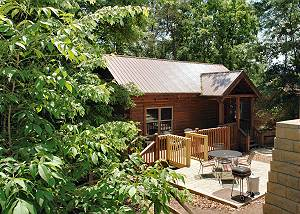 LOVERS GETAWAY #165 2 Bedroom Log Cabin 1 mile to Teaster Lane/Trolley Stop Pigeon Forge TN