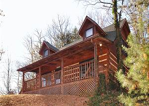 EL SHADDAI #8 Gatlinburg Cabin in the mountains EL SHADDAI 8