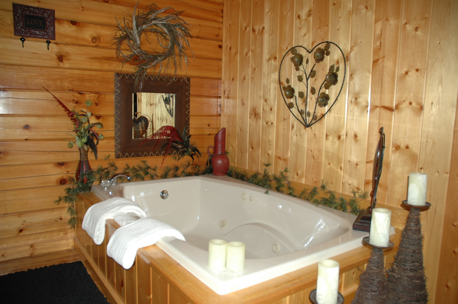 Sevierville Cabin Rental Cherokee Nights 132 1 Bedroom