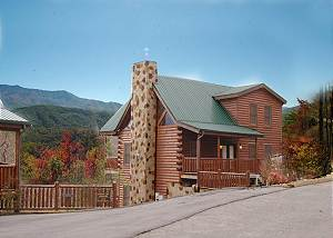BUCK NAKED LODGE #327 Cabin in between Gatlinburg and Pigeon Forge Buck Naked Lodge 327