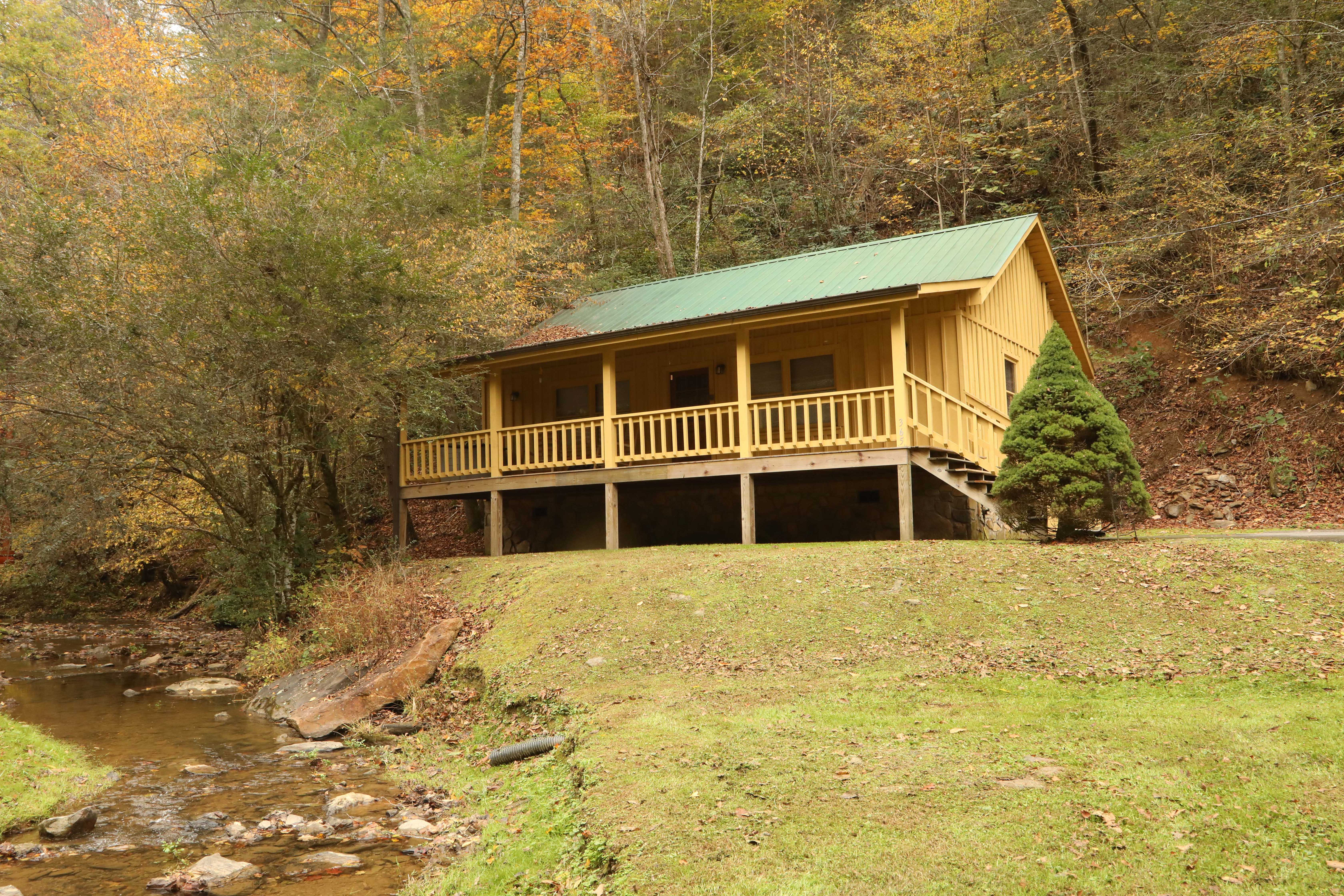 cabin cozy beary rental property bridge cabins last details minute rentals natural