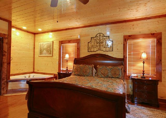Mystical Creek Pool Lodge - 600 | 6 Bedroom Cabins | Pigeon Forge ...