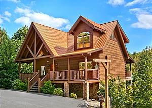 STONE RIDGE #325 Pigeon Forge Log Cabin Rental, Close to Parkway with Hot Tub and Jacuzzi