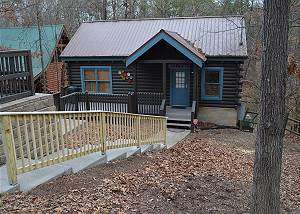 FIREFLY HOLLOW #165 2 Bedroom Log Cabin 1 mile to Teaster Lane/Trolley Stop Pigeon Forge TN