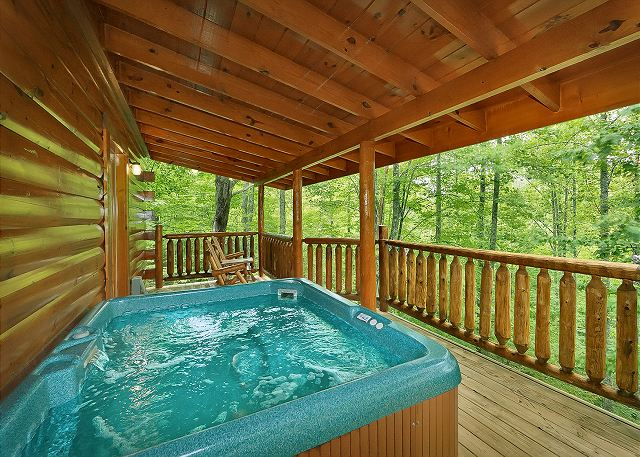 The Treehouse 1 Bed 2 Bath Cabin Acorn Cabin Rentals