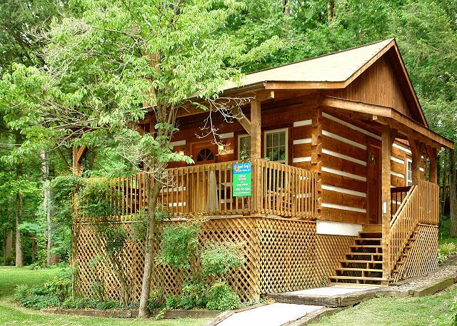 Genial DREAM WEAVER #1527 1 Bedroom Pet Friendly Cabin Close To Downtown Gatlinburg  And National