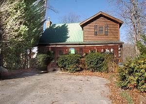 Antler Crossing #205 2 Bedroom Cabin Gnatty Branch Village Gatlinburg TN 6 miles from the Parkway