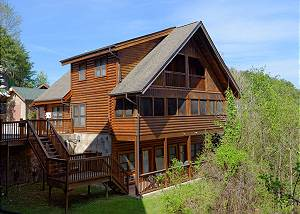 COZY BEAR COVE #288 2 Bedroom Pigeon Forge Resort Cabin Townhouse Near Golf Course Dollywood